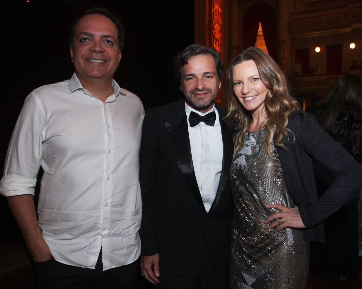 Sérgio Felipe Coutinho, Diogo Costa e Alessandra Grochko /Foto: Vera Donato