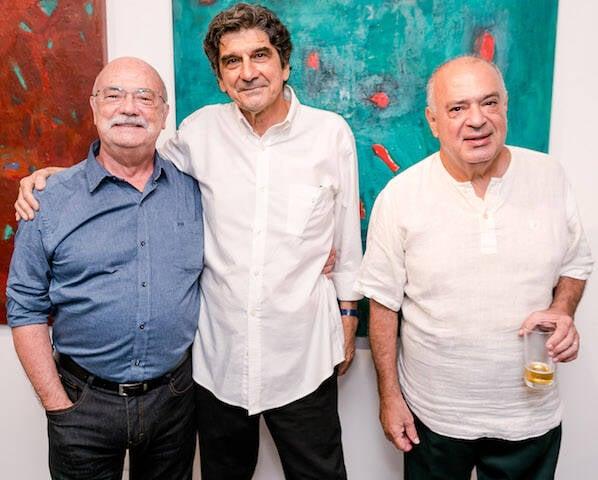 Adriano Mangiacchi, George Iso e Ernani Marones