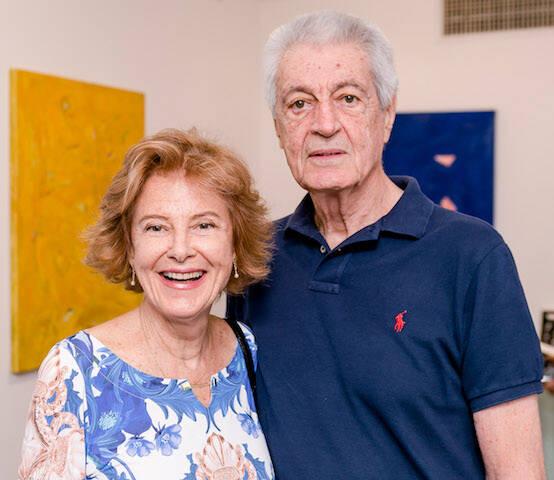 Aline Fratini e Celso Itibere