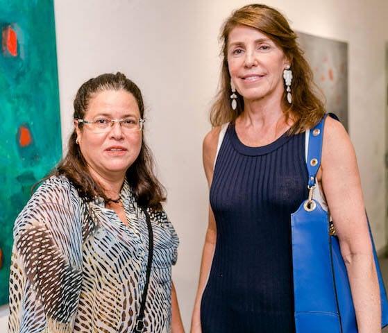 Andréa Alencar e Regina Fonseca