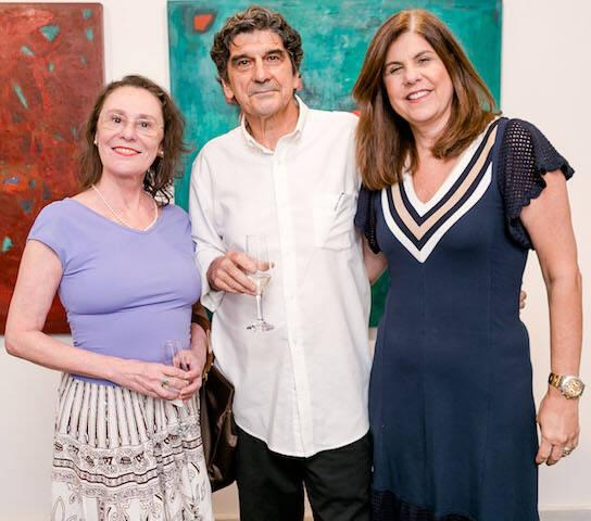 Andrea Braga, George Iso e Patricia Costa