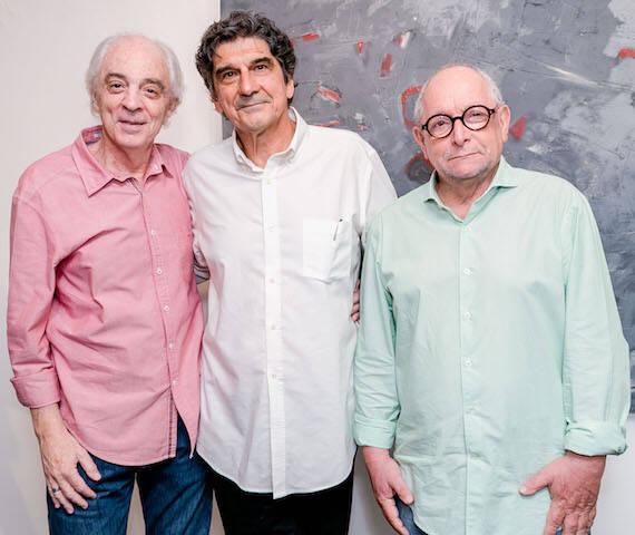 Carlos Sion, George Iso e Ingo Ostrovsky