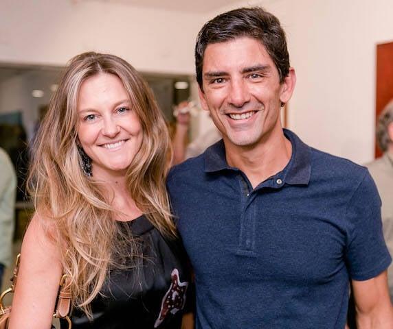 Carolina Weber e Guilherme Iso