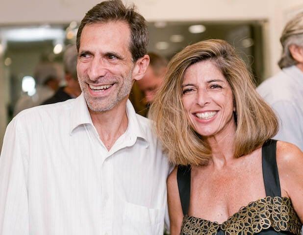 Daniel Stycer e Ruth de Aquino