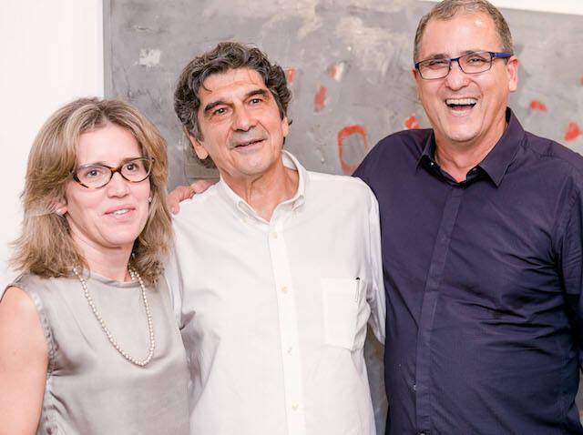 Joisa Dutra, George Iso e Eduardo Dutra