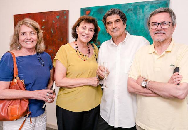 Lilian Cozac, Elisa Houaiss, George Iso e Augusto Ivan