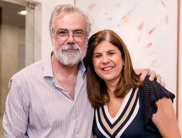 Pedro Tebyriça e Patricia Costa