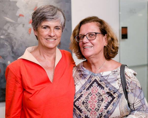 Renée Castelo Branco e Isabel Magalhães