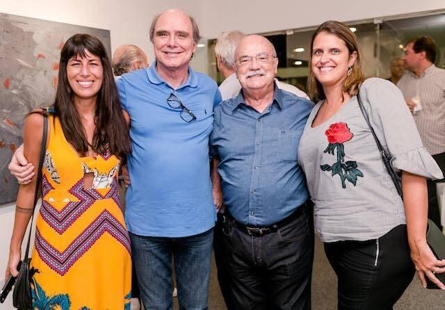 Rita Capell, Selmo Marino, Adriano Mangiacchi e Andréa Gonçalves