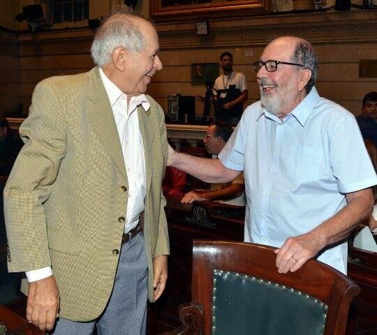 Antônio Torres e Cacá Diegues