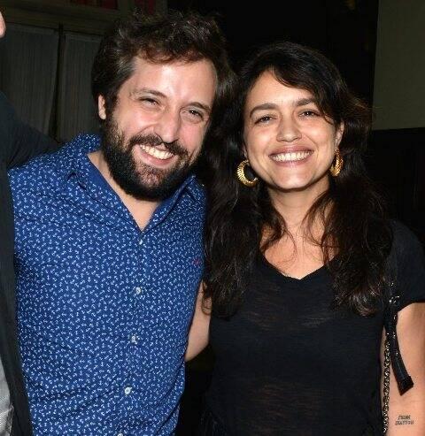 Gregório Duvivier e Manuela Dias