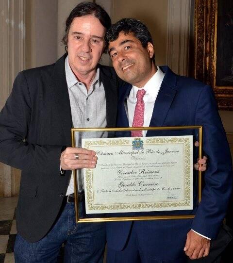Geraldinho Carneiro e José Fernando Aparecido de Oliveira