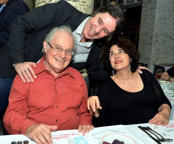Geraldinho Carneiro com Francis e Olivia Hime