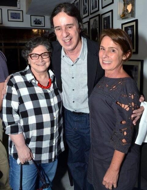 Cora Ronai, Geraldinho Carneiro e Cacá Mourthé