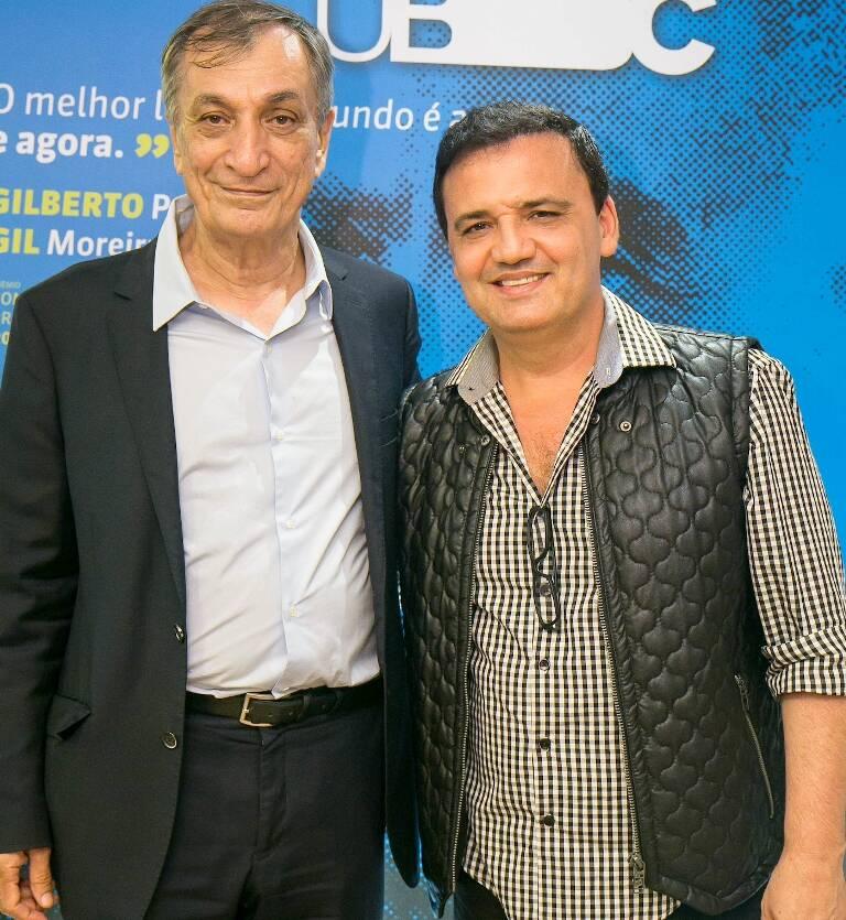 Antonio Cicero e Elias Muniz