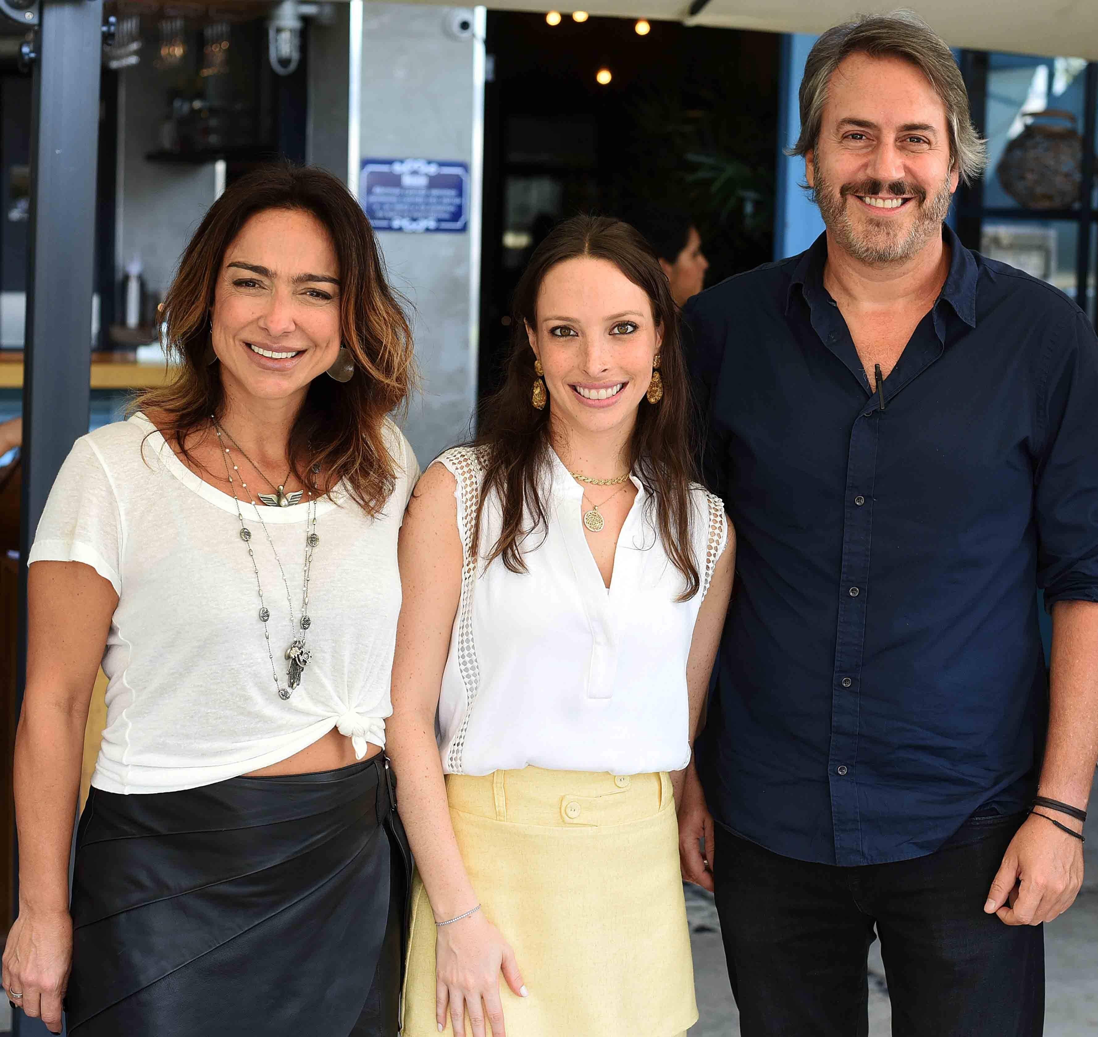 Ana Paula Iespa, Giselle Rivkind e Sergio Conde Caldas /Foto: Ari Kaye