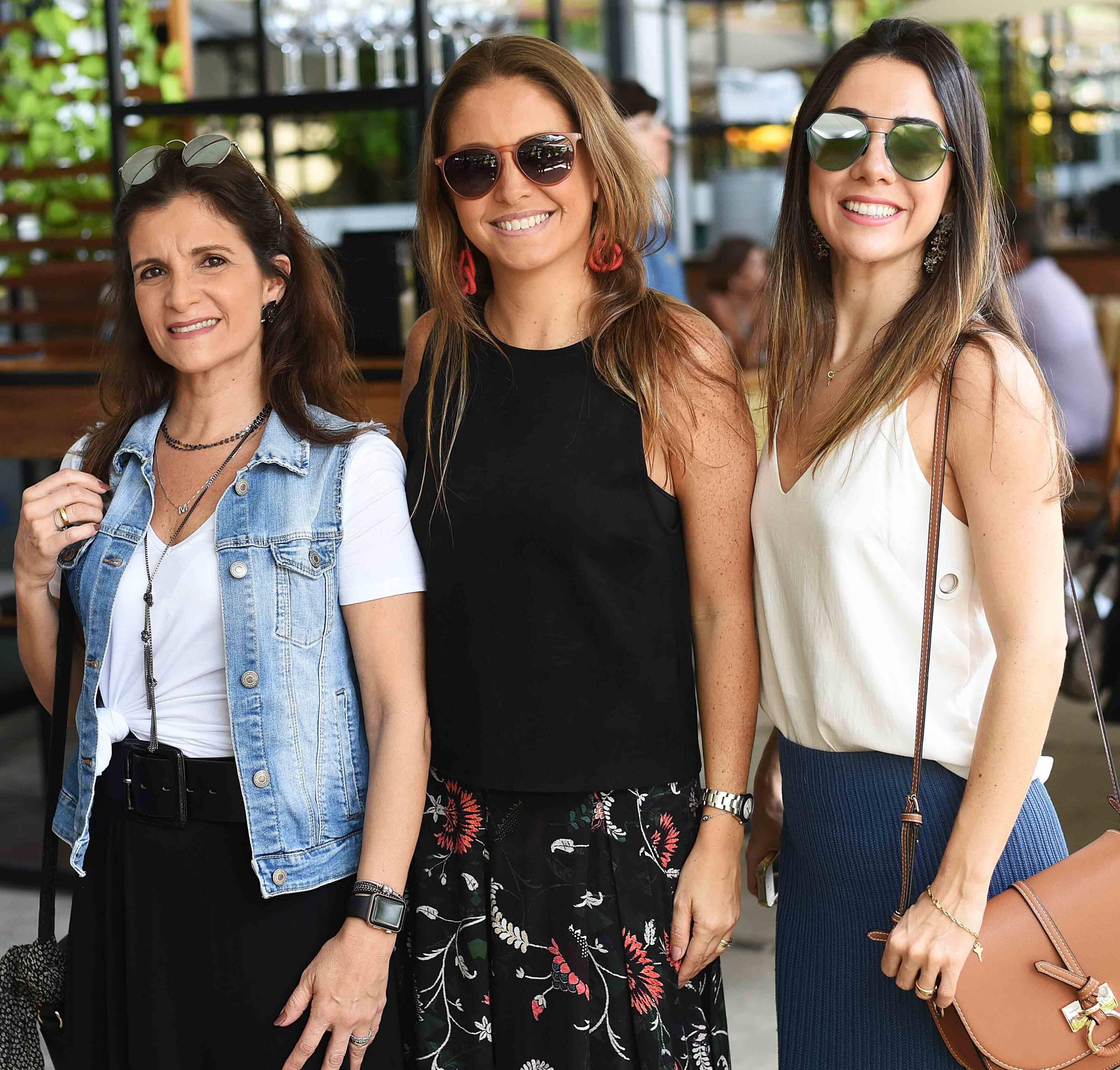 Marcia Rodrigues ,Gabriela Hue e Patricia Carvalho /Foto: Ari Kaye
