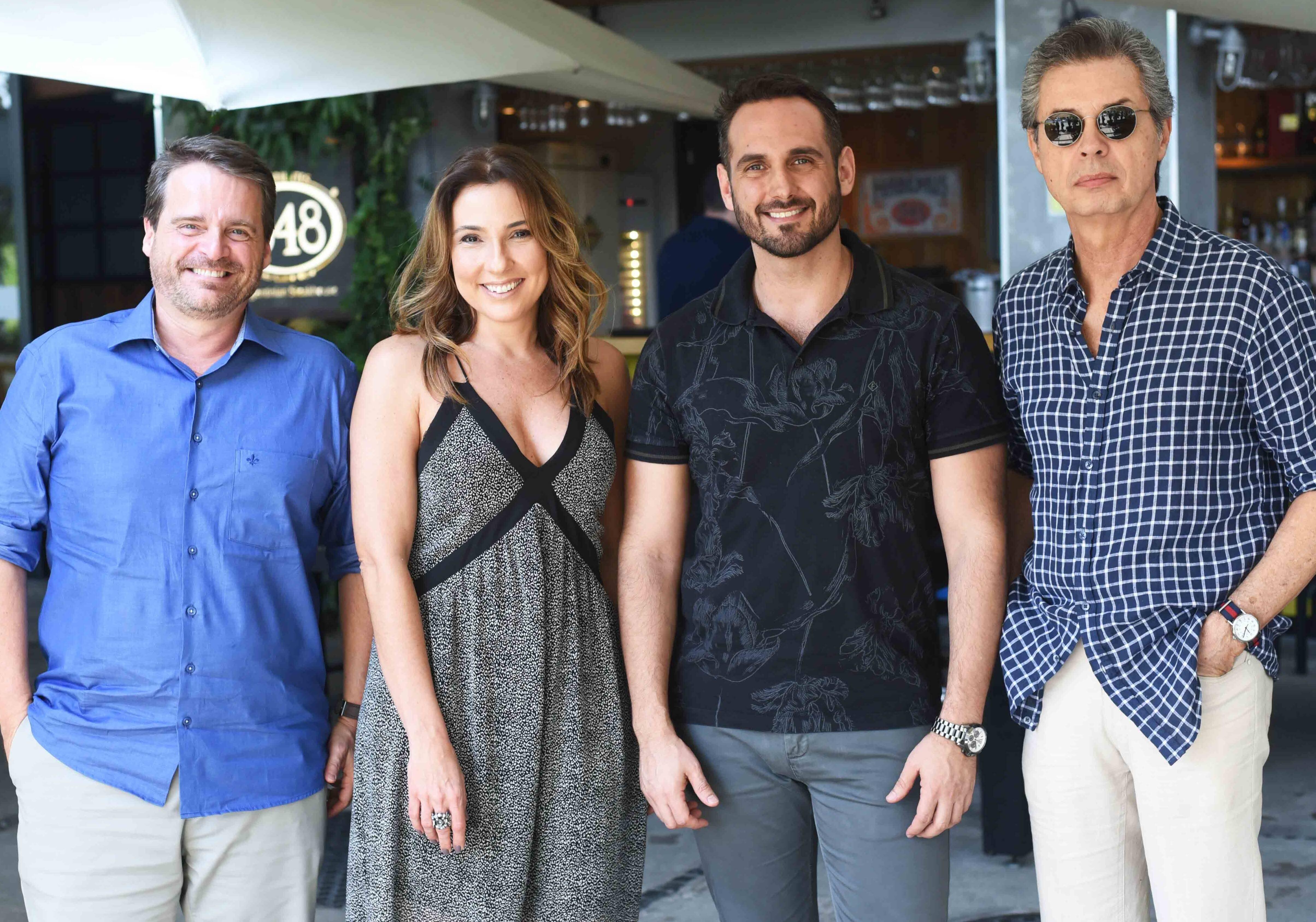 Alexandre Bianco, Claudia Pimenta, Jorge Nascimento e Carlos Boeschenstein /Foto: Ari Kaye
