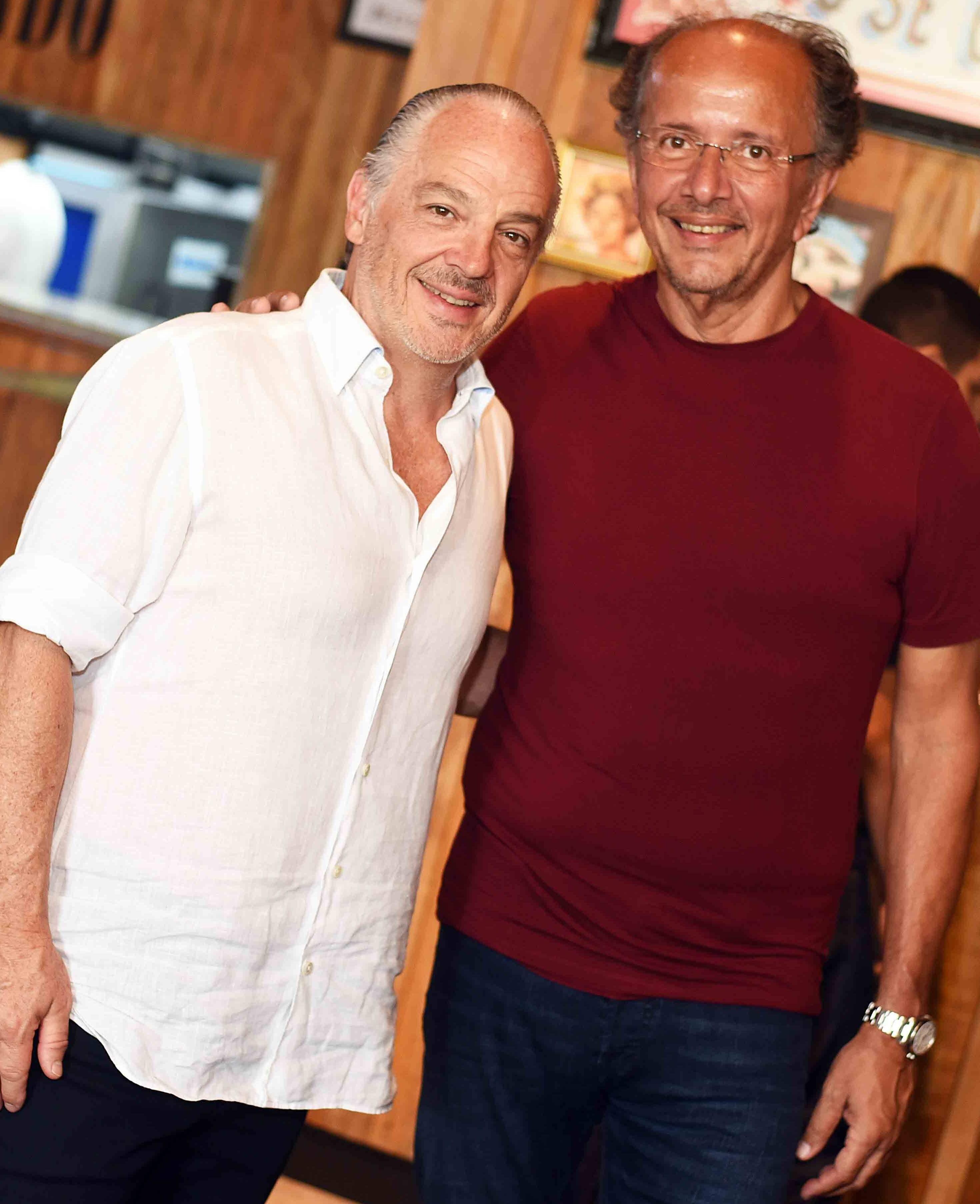 Raul Penteado e David Bastos /Foto: Ari Kaye