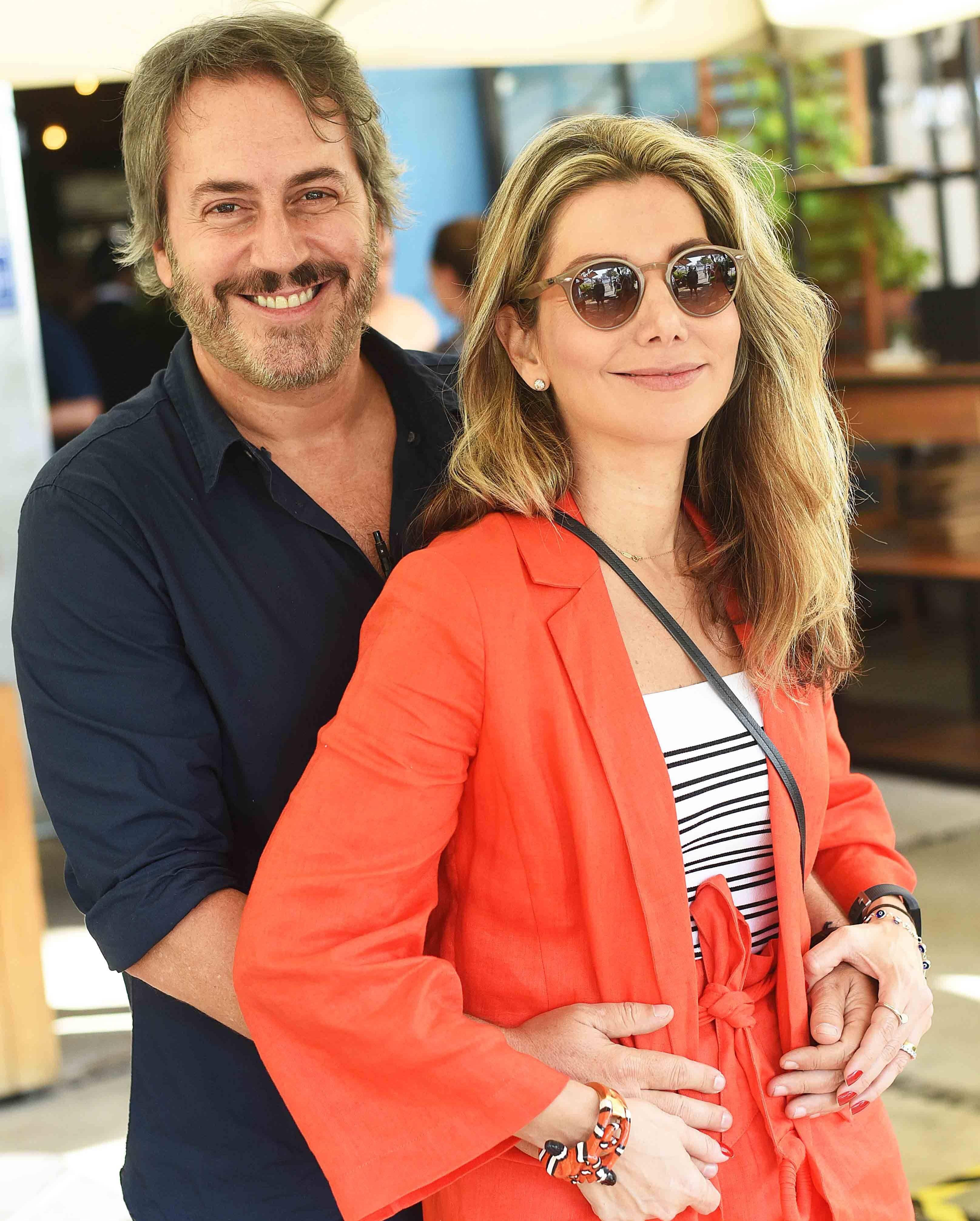 Sergio Conde Caldas e Renata Reis /Foto: Ari Kaye