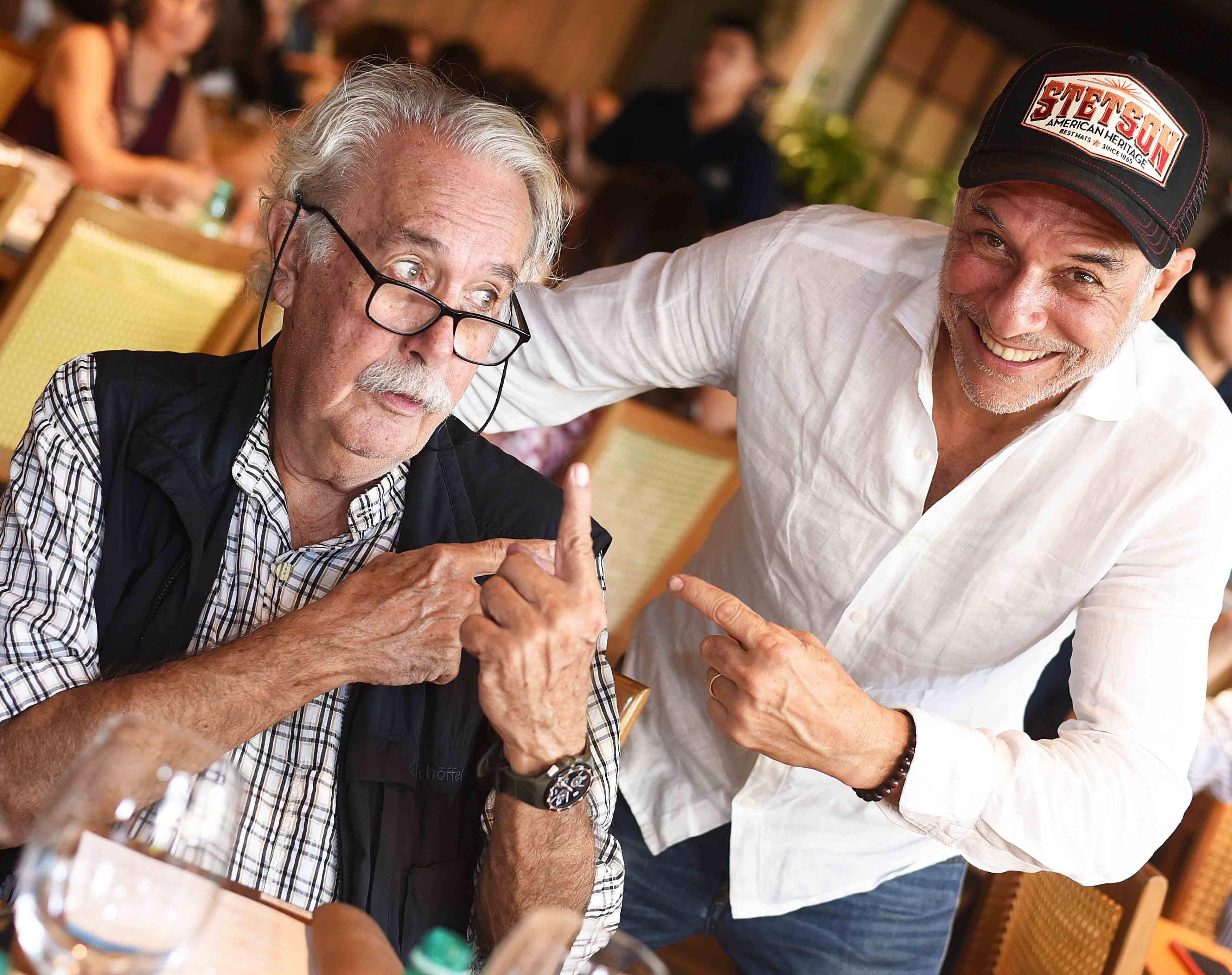 Carlos Vergara e José Bechara /Foto: Ari Kaye