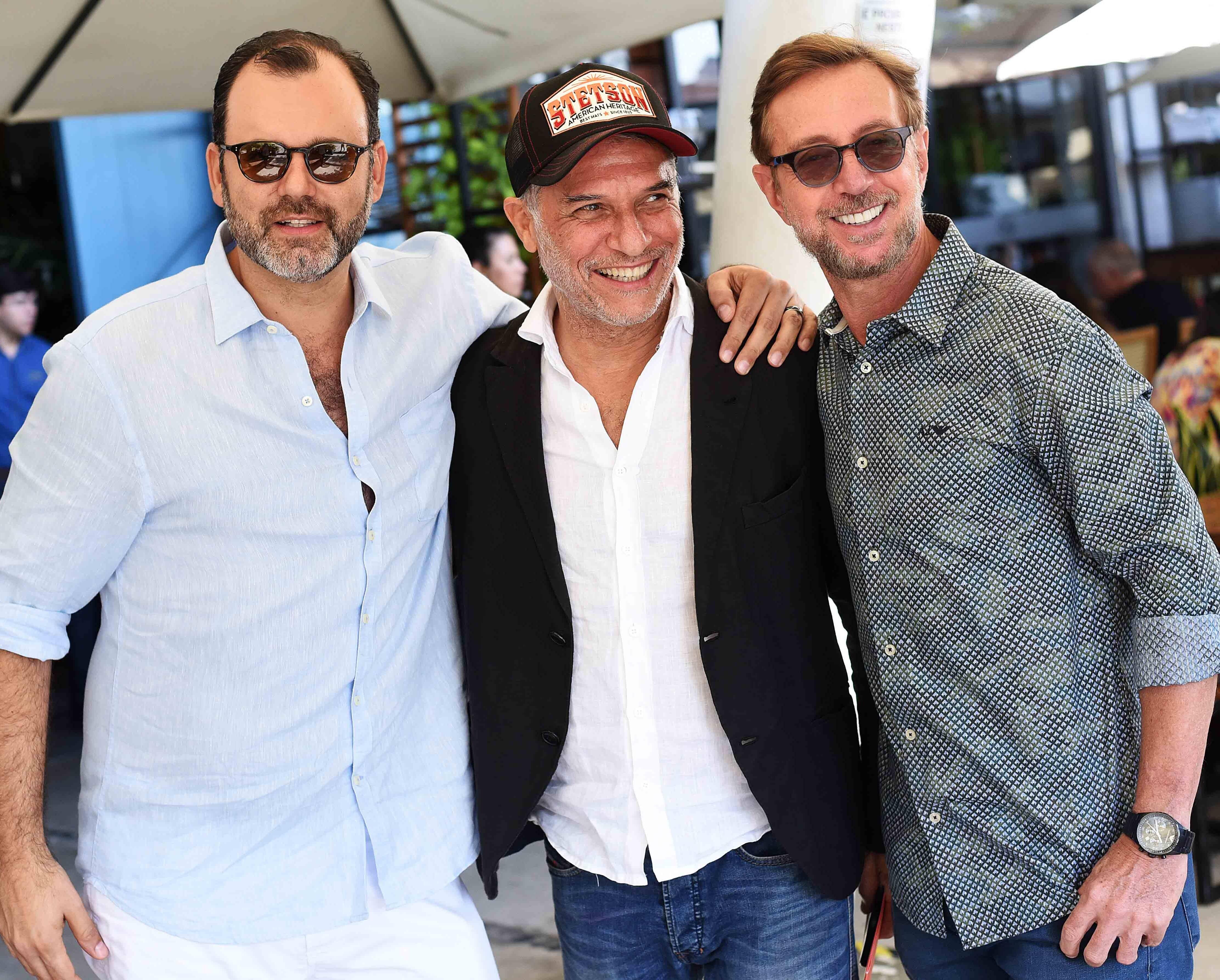 Erick Figueira de Mello, José Bechara e Nando Grabowsky /Foto: Ari Kaye