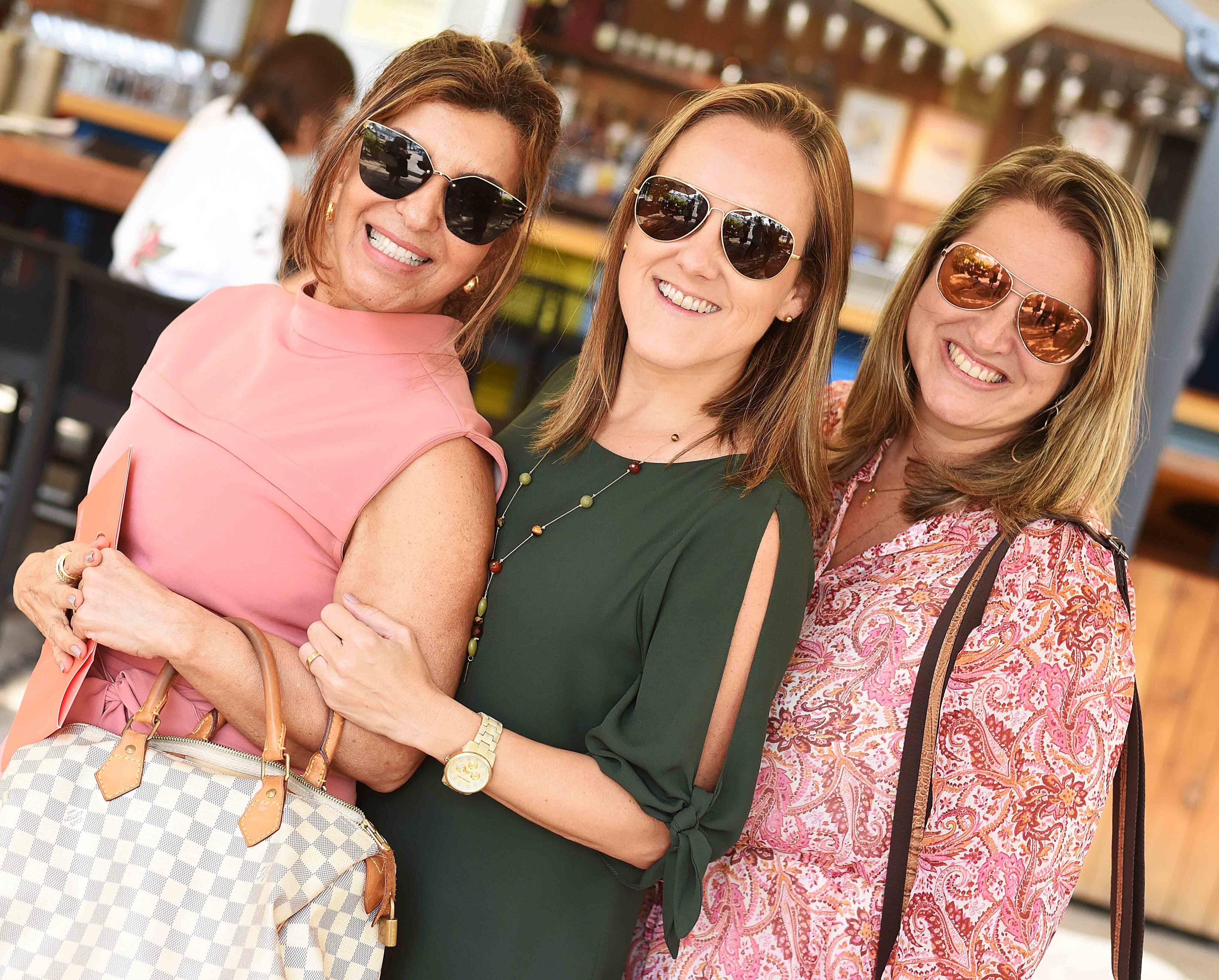 Lenora Lohrisch, Roberta Nicolau e Ana Cano /Foto: Ari Kaye