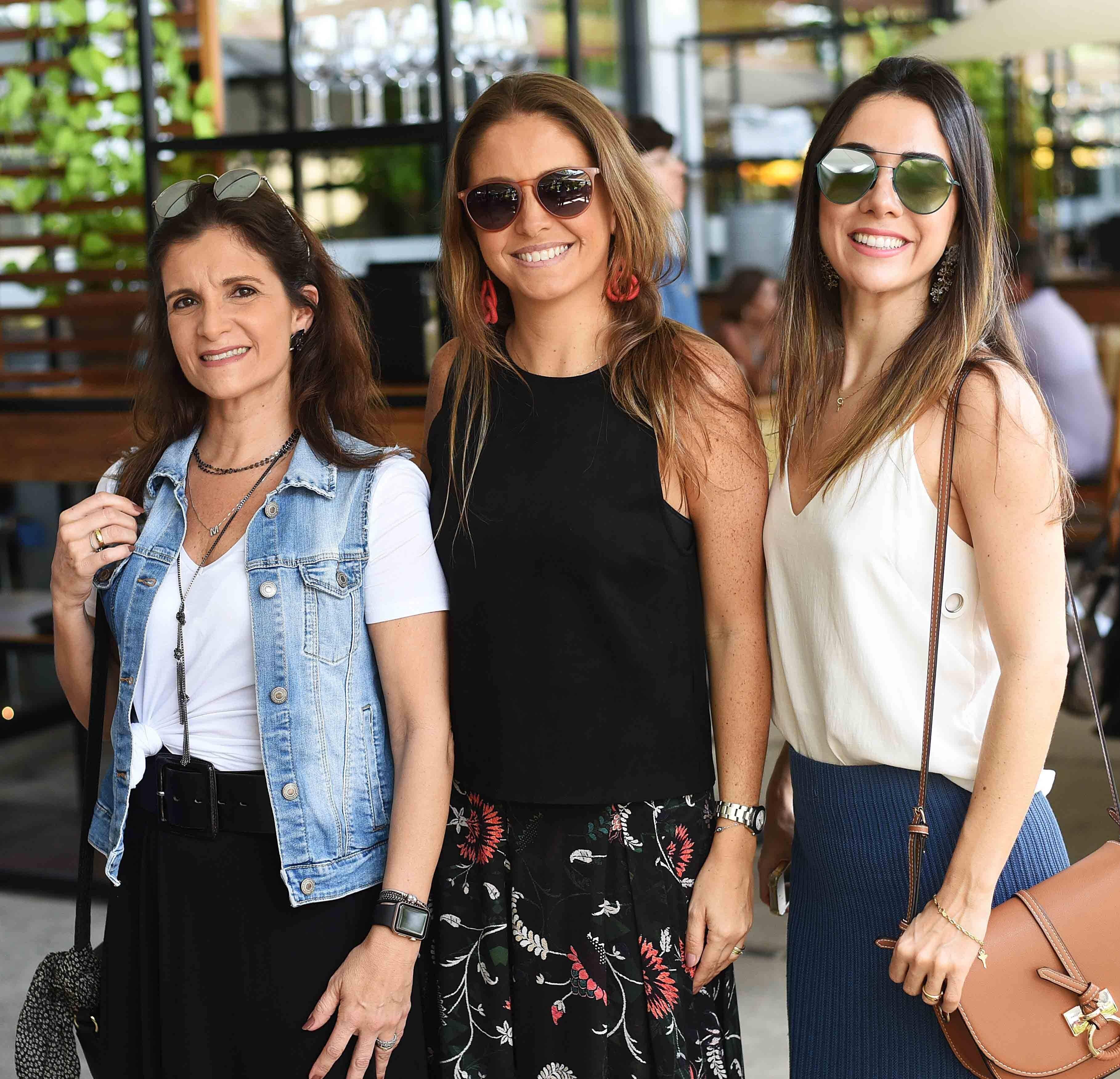 Marcia Rodrigues, Gabriela Hue e Patricia Carvalho /Foto: Ari Kaye