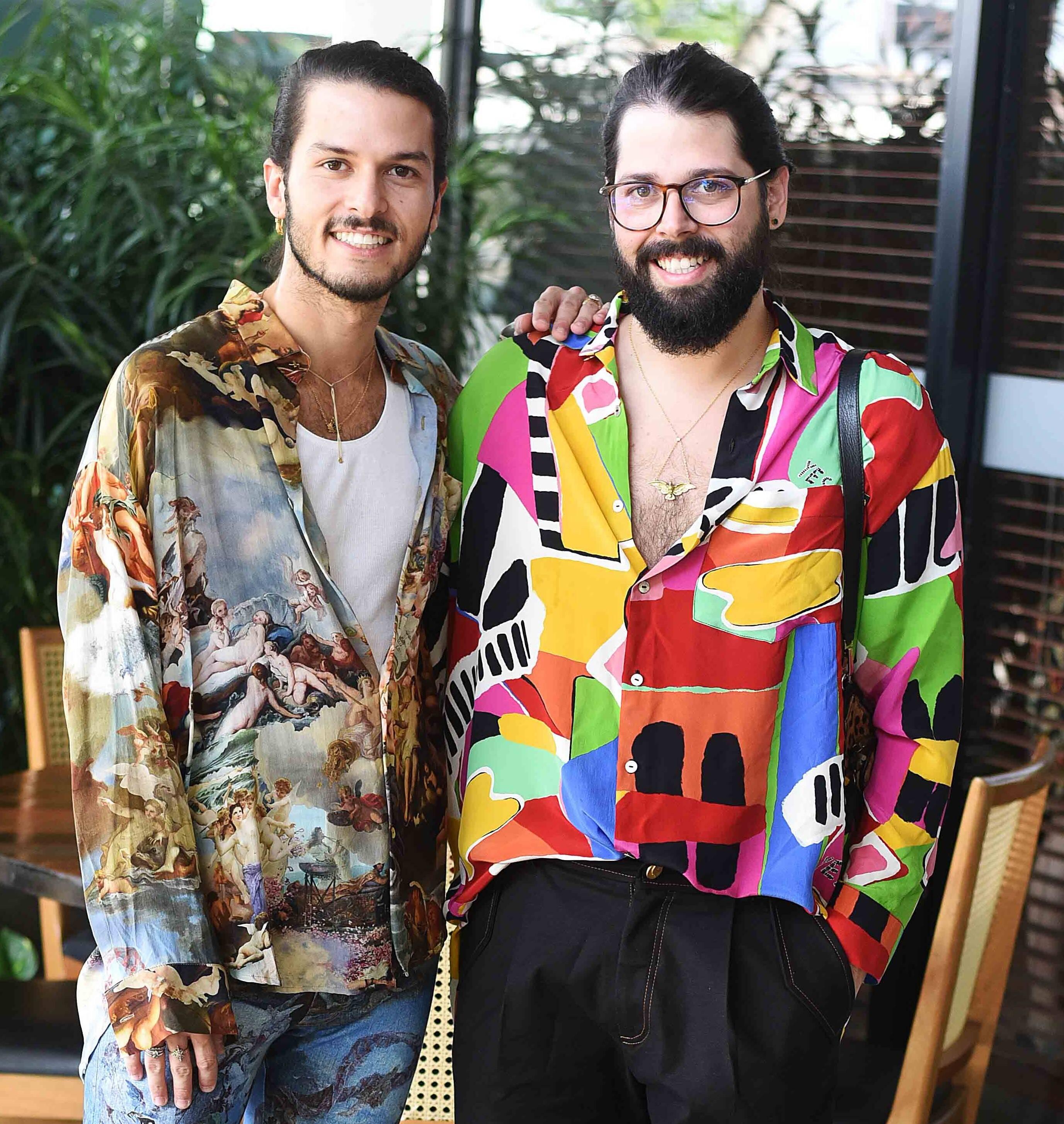Patrick Doering e Thomaz Azulay /Foto: Ari Kaye