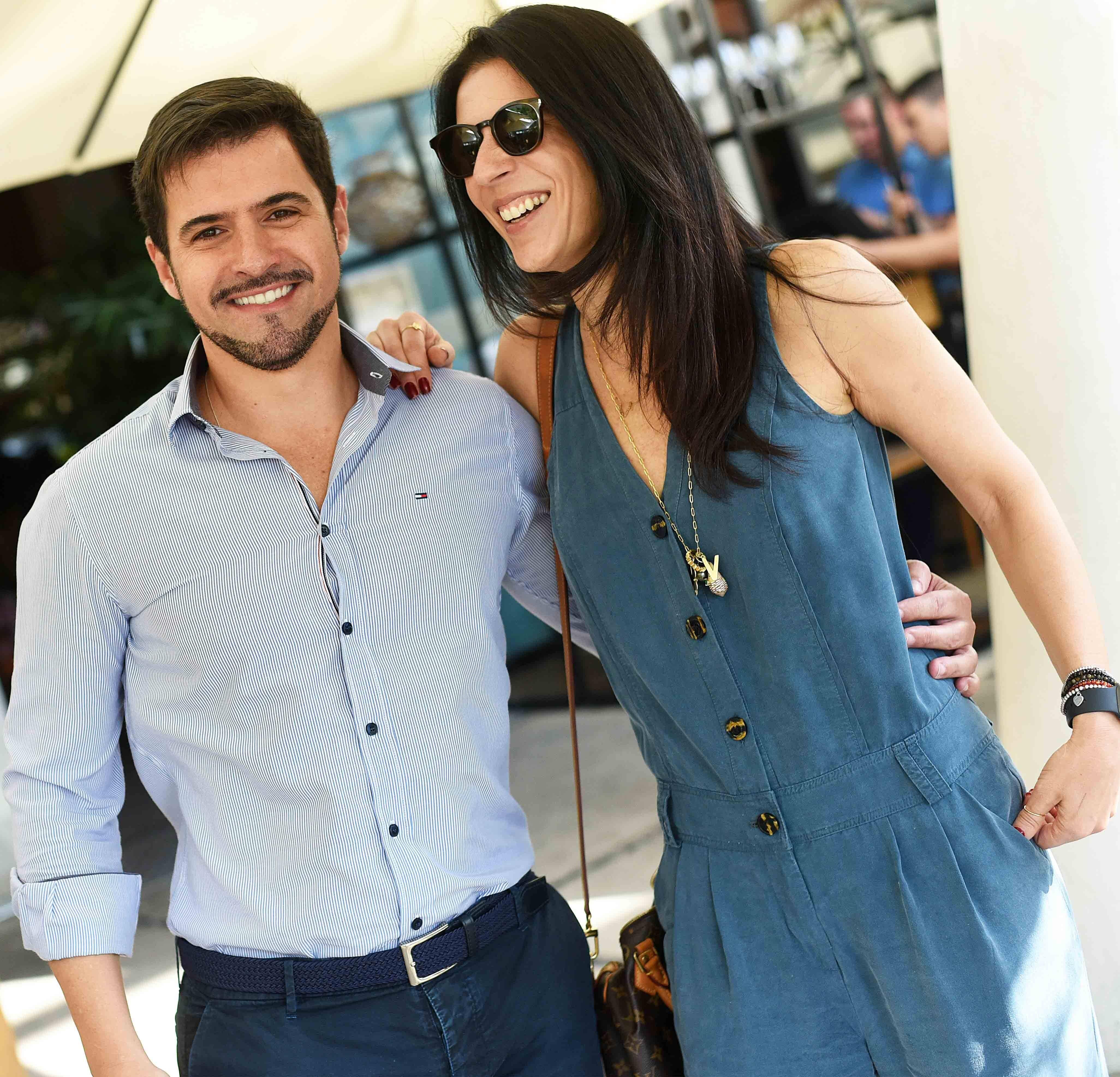 Rodrigo Barbosa e Vanessa Borges /Foto: Ari Kaye