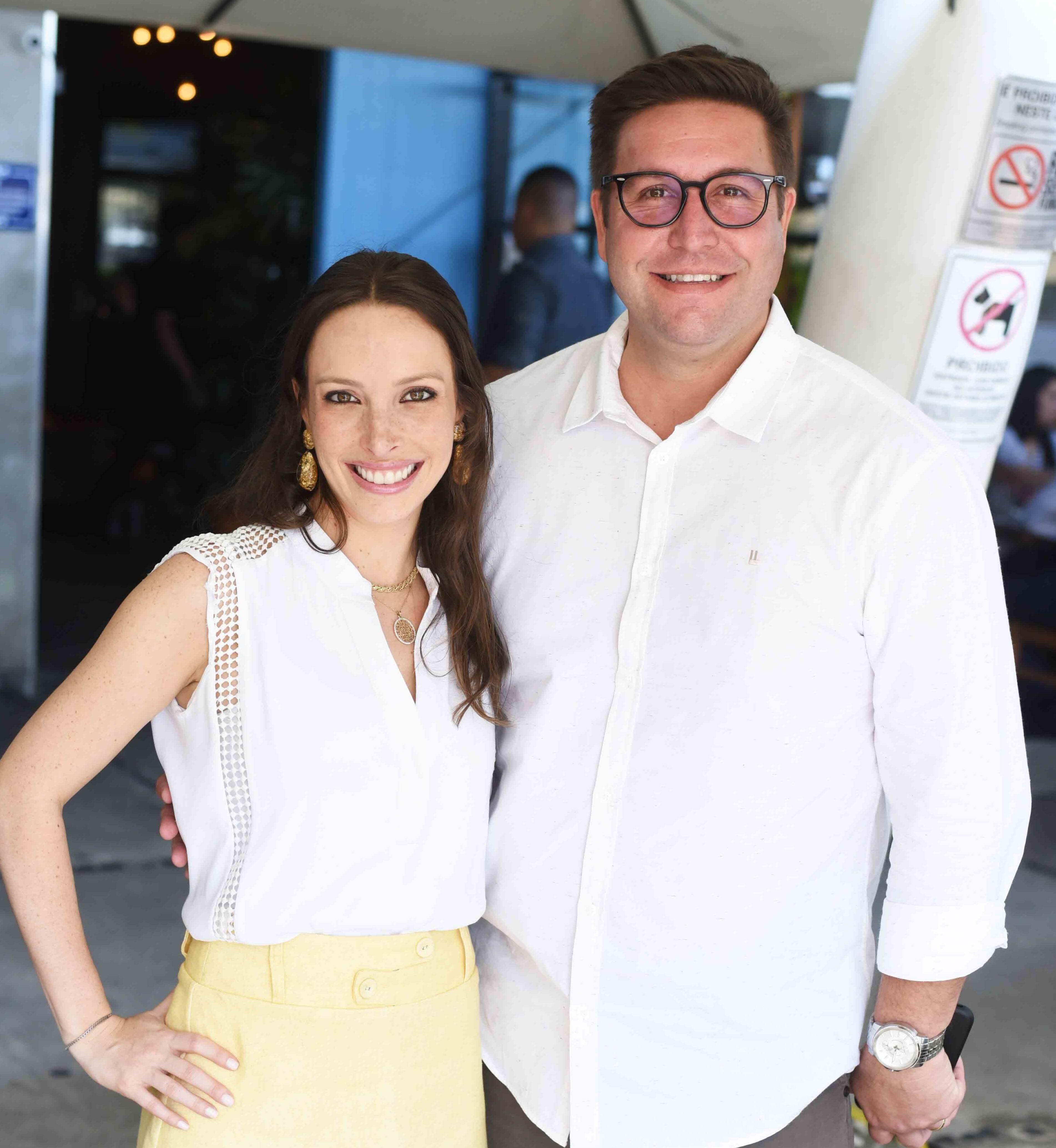 Giselle Rivkind e Alexandre Lobo /Foto: Ari Kaye