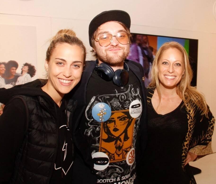 Ariella Liberman, Misha e Laurence Sarah /Foto: Leda Abuhab