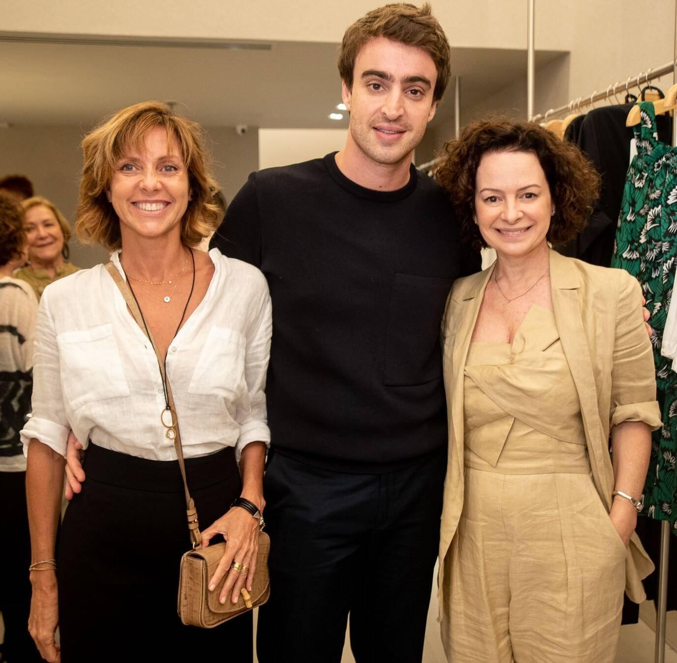 Claudia Melli, Eduardo Toldi e Andrea Marques /Foto: Renato Wrobel
