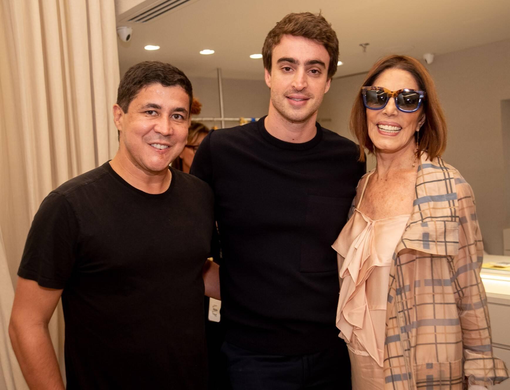 Diogenes Queiroz, Eduardo Toldi e Mila Moreira  /Foto: Renato Wrobel