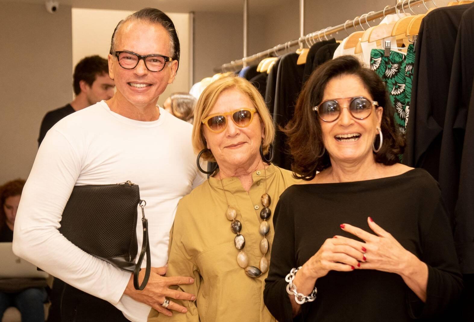Heckel Verri, Cristiane Fleury e Gloria Kalil  /Foto: Renato Wrobel