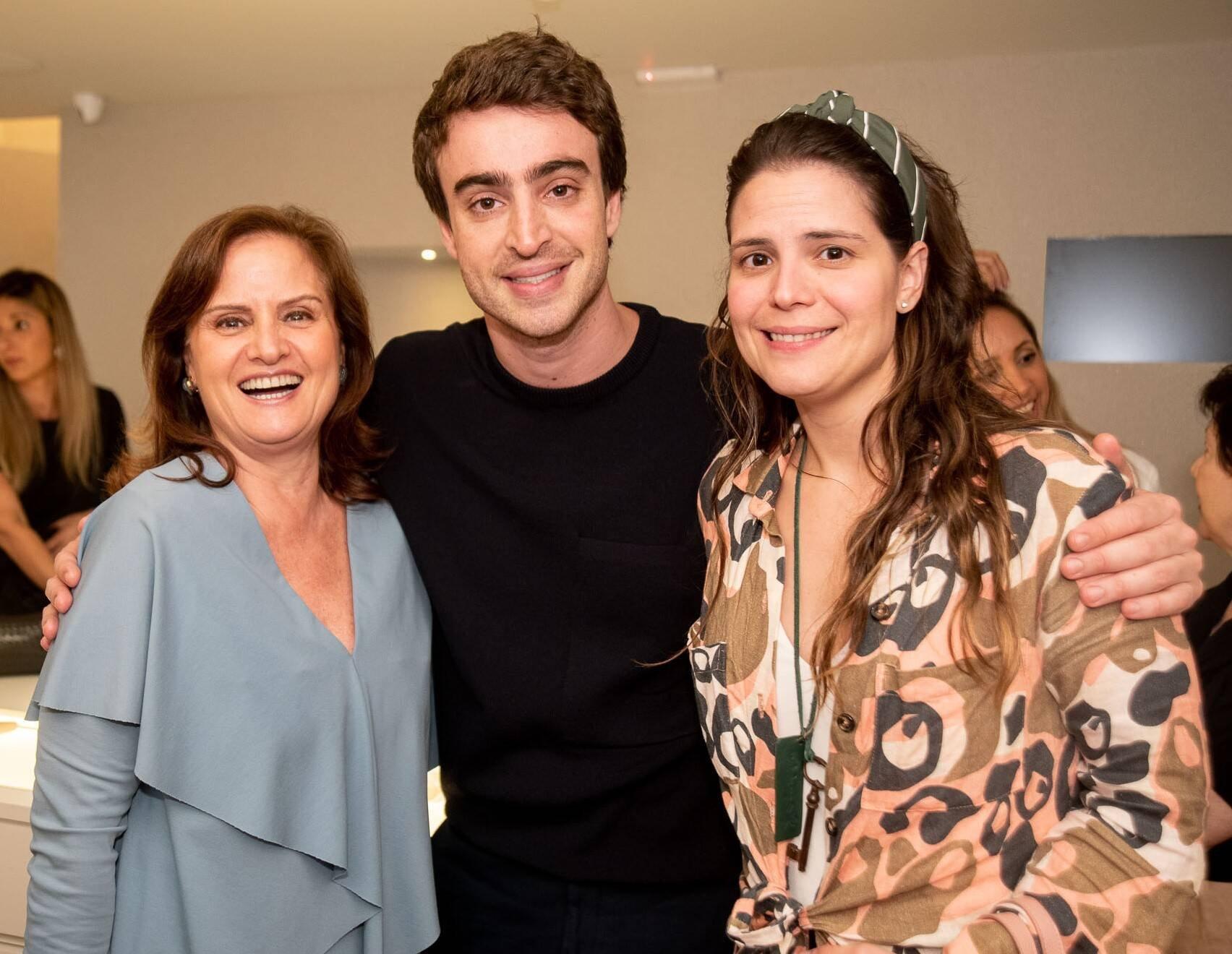 Katia Danemberg, Eduardo Toldi e Paloma Danemberg /Foto: Renato Wrobel