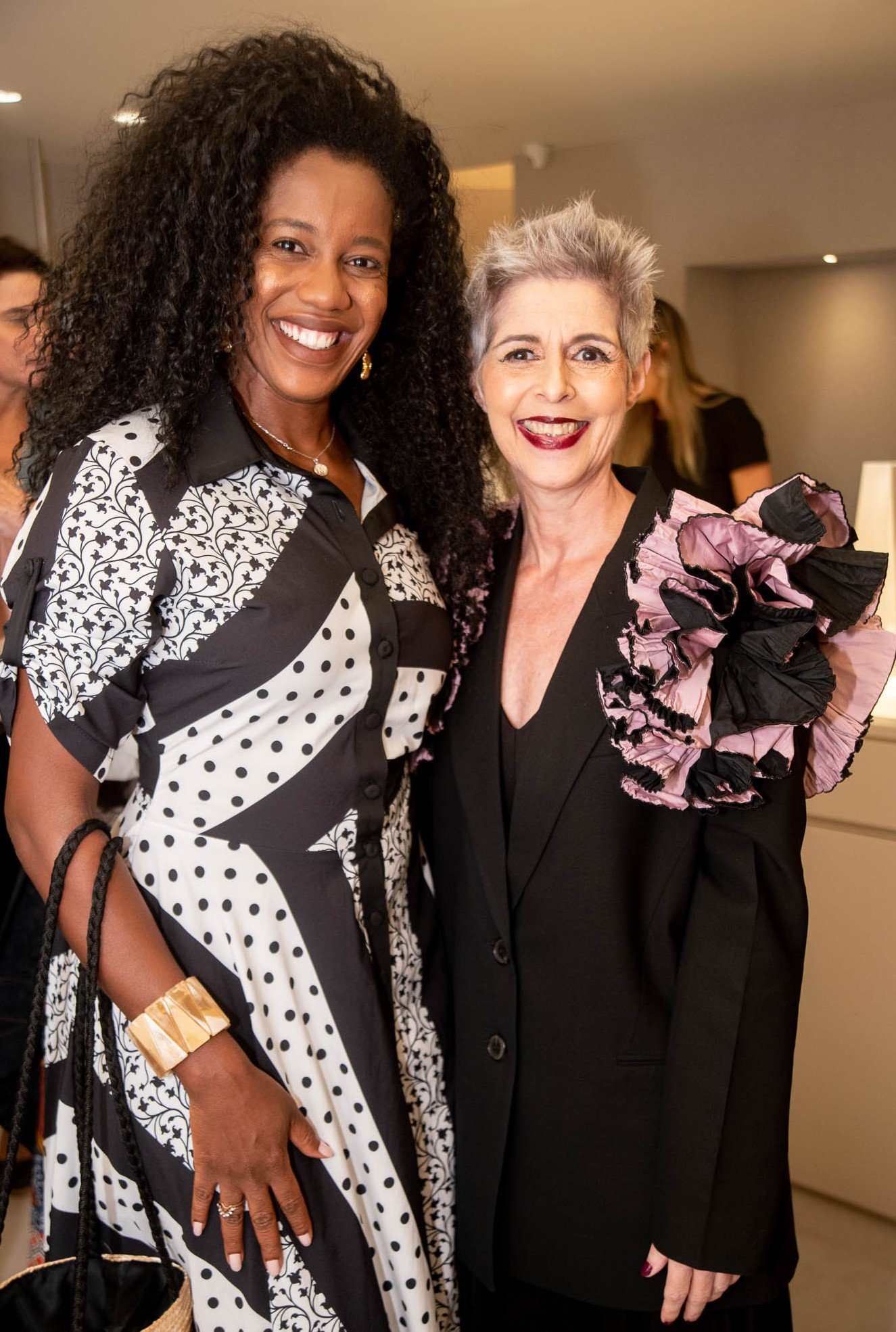 Maria Gal e Roberta Ribeiro  /Foto: Renato Wrobel