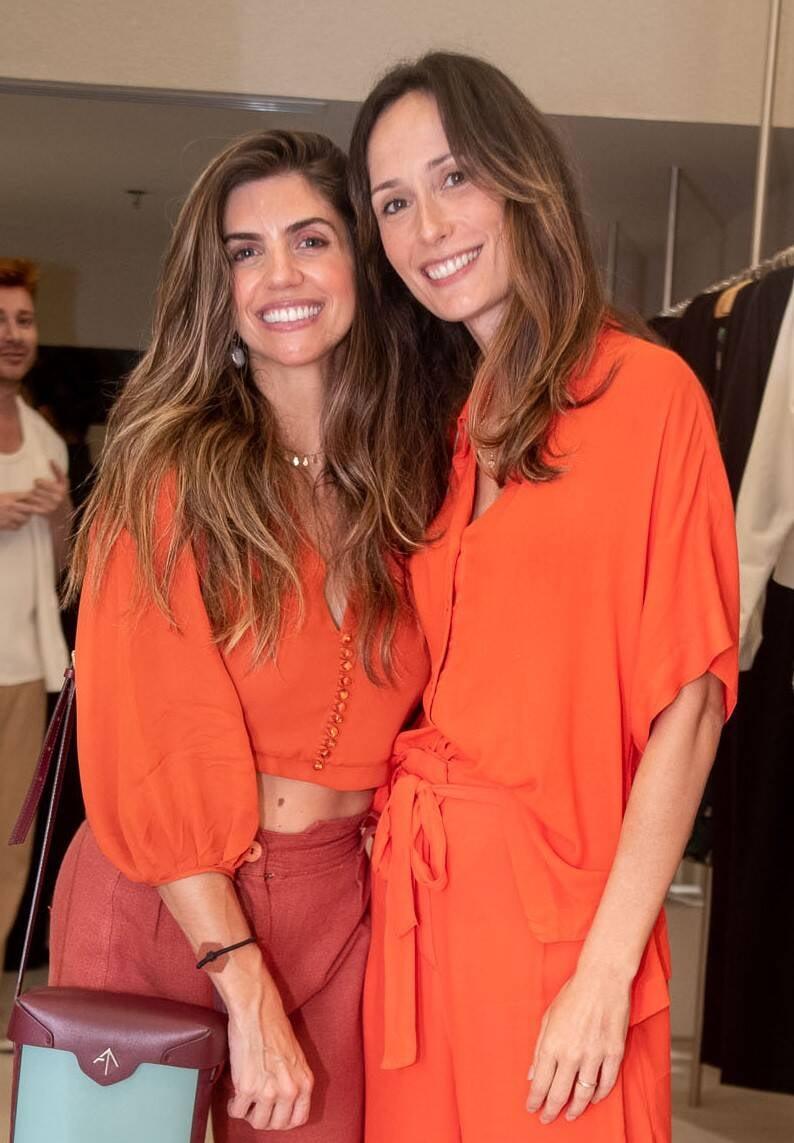 Mariana Aviz e Renata Assunção  /Foto: Renato Wrobel