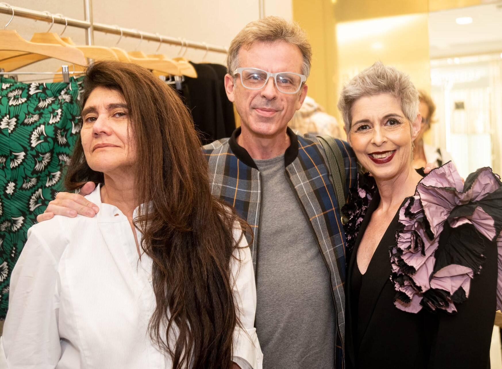 Sonia Gonçalves, Alexandre Schnabl e Roberta Ribeiro /Foto: Renato Wrobel