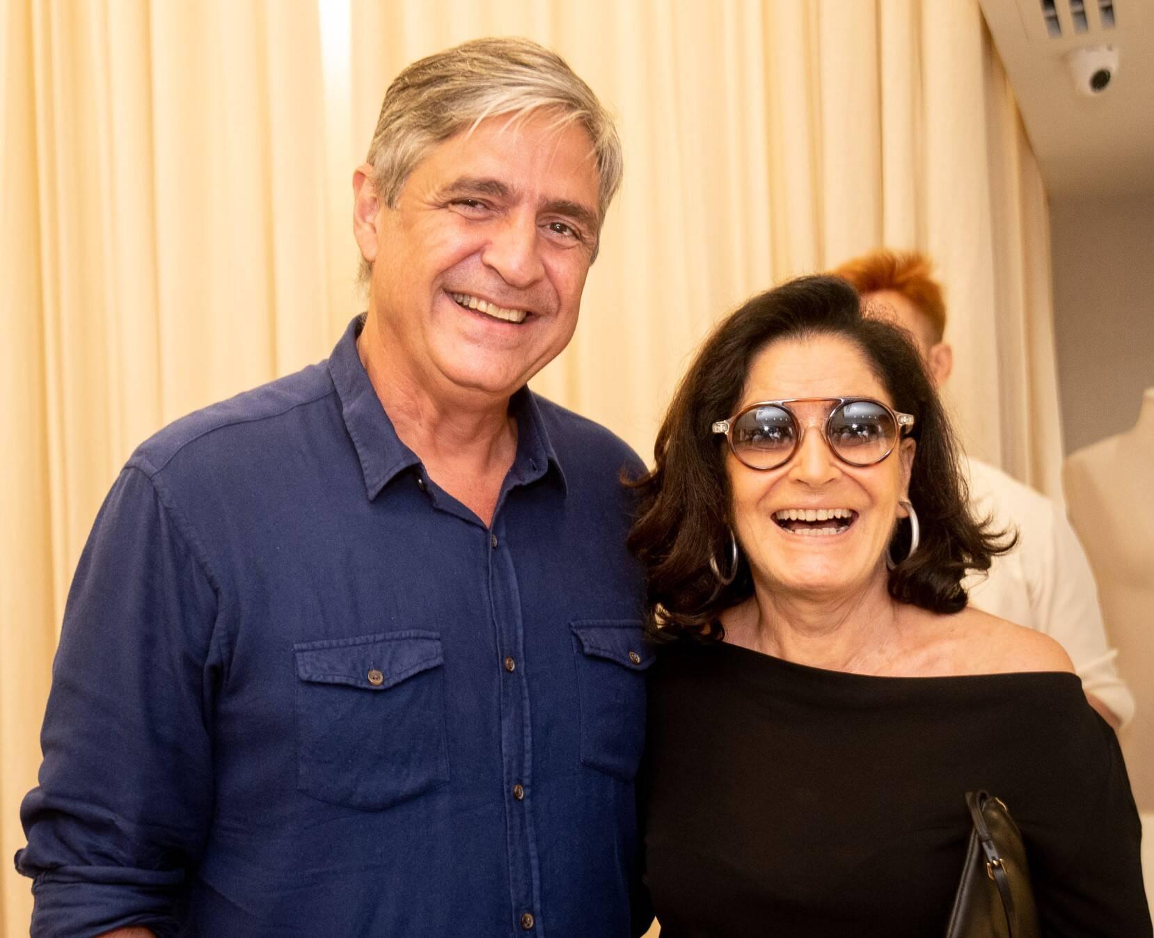 Toni Oliveira e Gloria Kalil  /Foto: Renato Wrobel