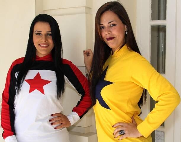 Ariany Nunes e Graice Mendes