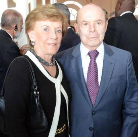 Cecília e Francisco Dornelles