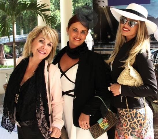 Chiquerere, Valesca Altmann e Suzana Castiglia