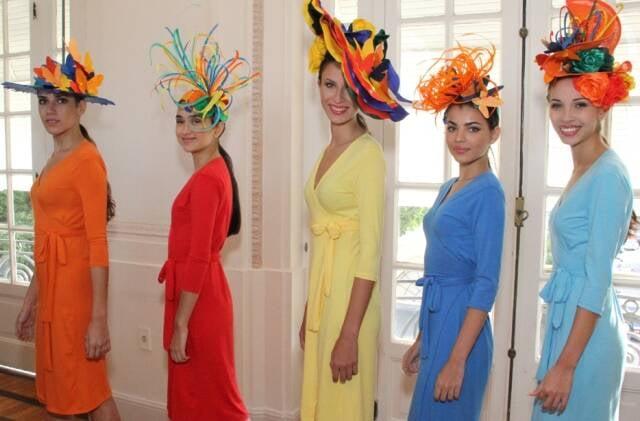 O desfile de chapéus