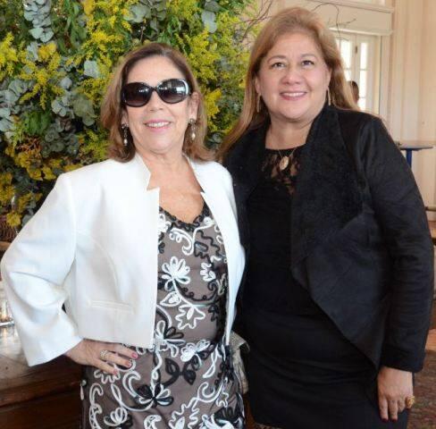 Elizabeth Portela e Idalina Rezende