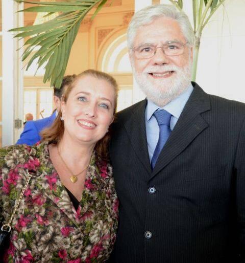 Flávia e Tito Ryff