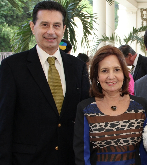 Geraldo Sales e Martha Rocha
