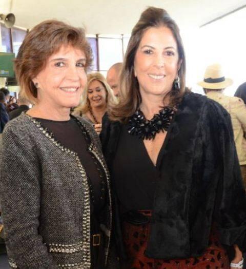 Gilda Gross e Helena Taunay