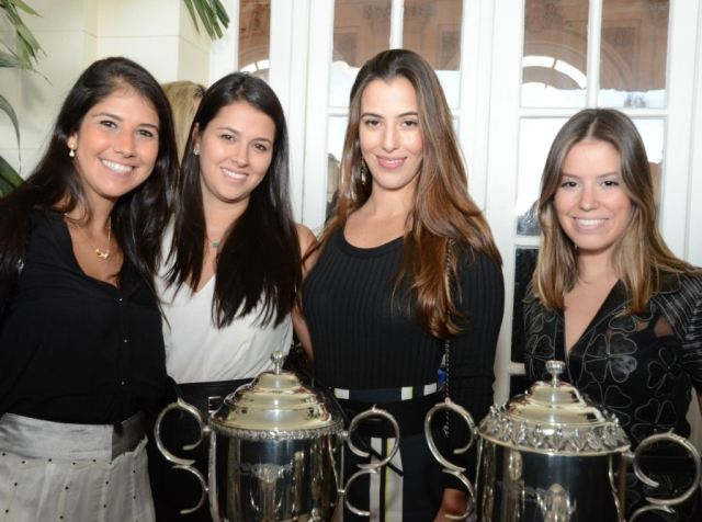 Giuliana Sansone, Marina Baptista, Isabel Taunay e Letícia Ziinelli
