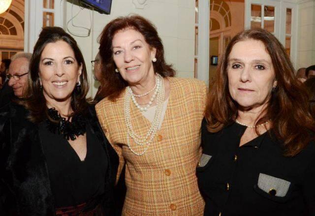 Helena Taunay, Alícia Gayoso e Cristina Oswaldo Cruz